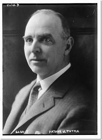 Judge Arthur J Tuttle Portrait